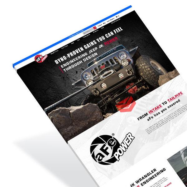 Automotive Web Design AFE