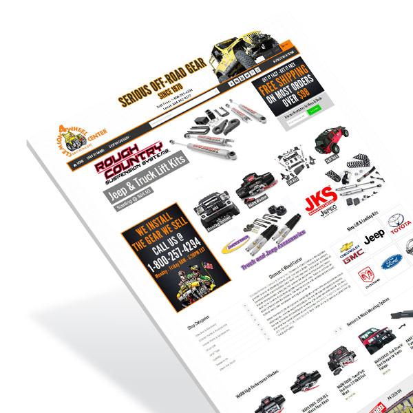 Clemson SC eCommerce Website Design