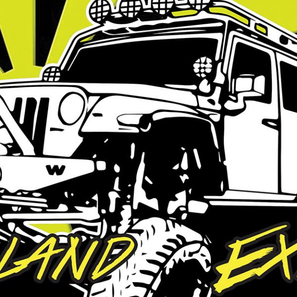 Overland Event Branding Graphics
