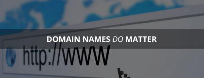 Domain Names Importance