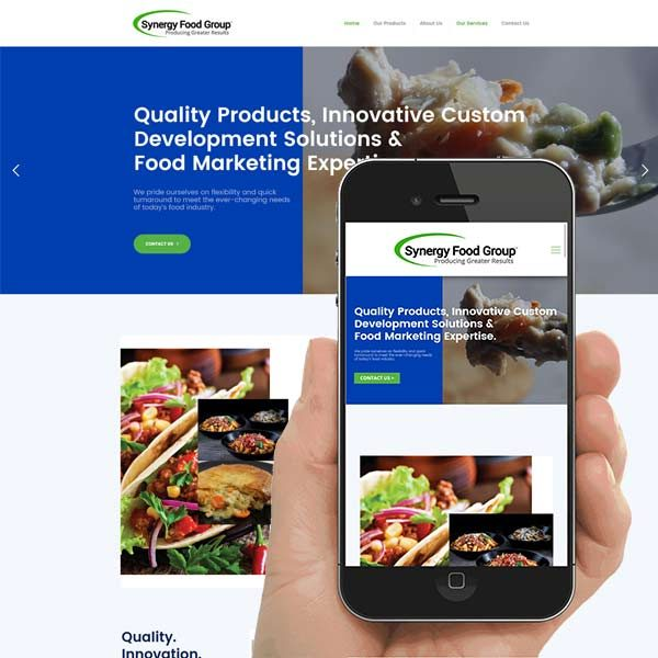 Clemson Food Service Web Design