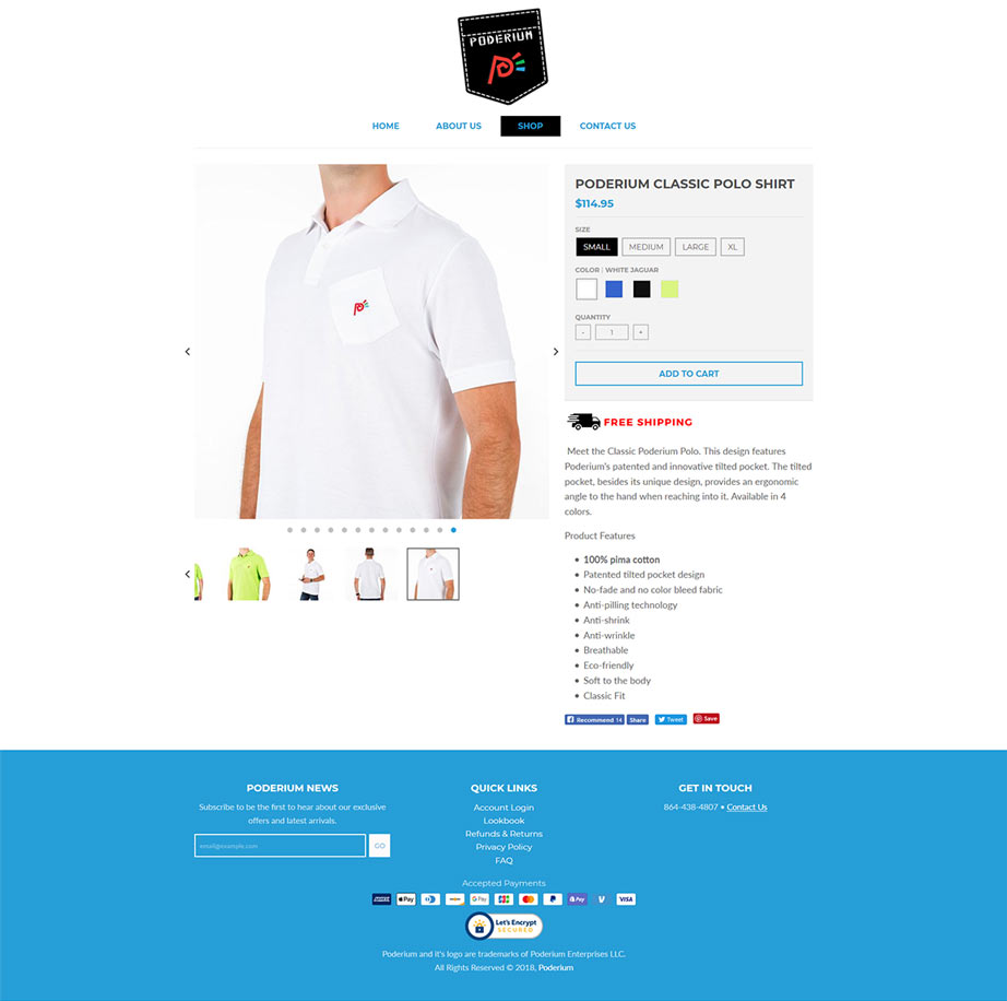 Greenville SC Shopify Product Design