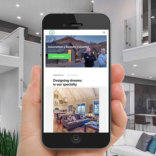 Home Builder WordPress Website