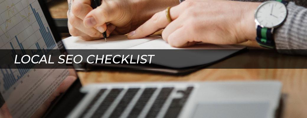 Local SEO Checklist   Clemson Web Design