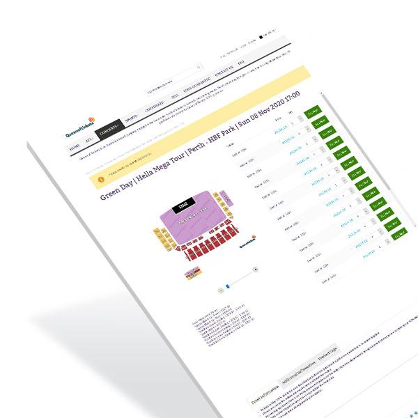 Product Page Web Development